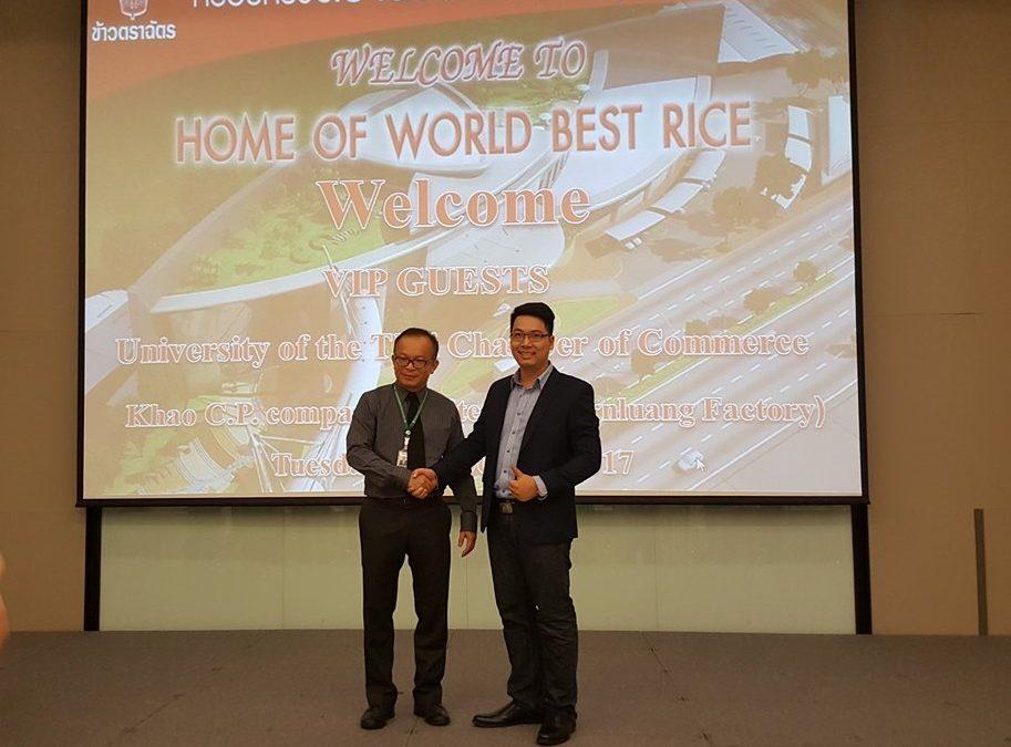 Đại diện AKING đến thăm và tìm kiếm cơ hội hợp tác với các doanh nghiệp Thái Lan