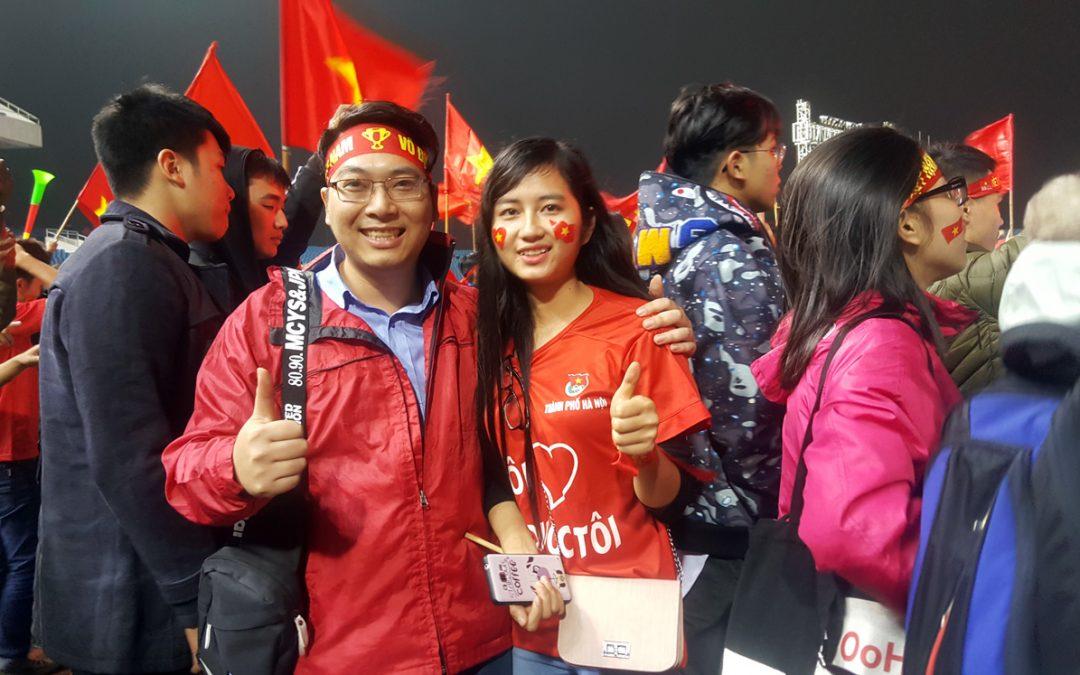 AKING.vn cổ vũ U23 Việt Nam, những giây phút khó quên